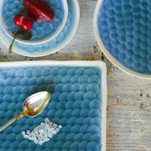 Pikkelytál – Kék nagy szett