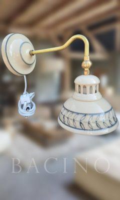 Piccolo ristorante (Fali lámpa kapcsolóval)
